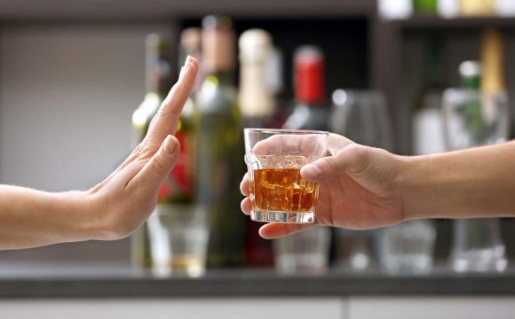 alcohol on hCG